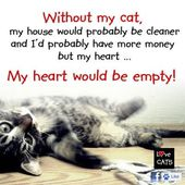 My heart would be broken and empty... Share if u agree...